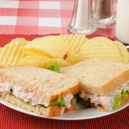 Image of Deviled Ham Sandwich