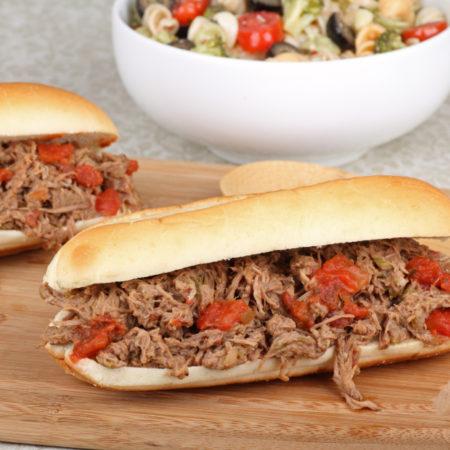 Image of Italian Beef Sandwich